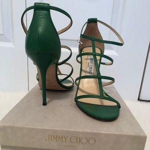 Jimmy Choo sandals, Italian size 38.5